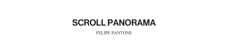 SCROLL PANORAMA